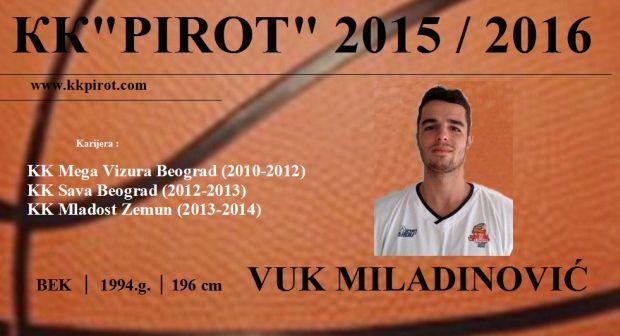6 V. Miladinovic 15-16