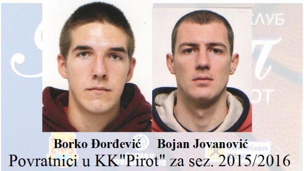 3 Povratnici u KK Pirot 2016